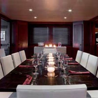 Cyan Yacht Dining Table