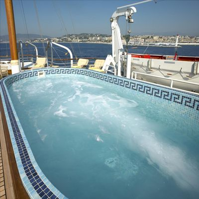 SS Delphine Yacht Pool