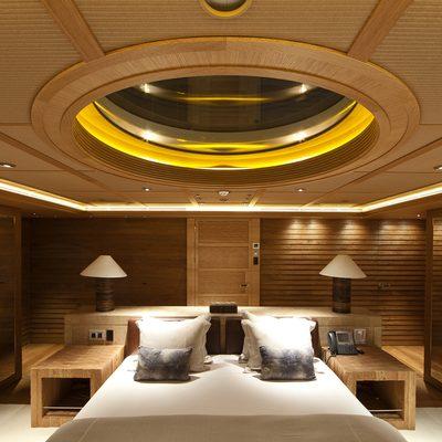 Naia Yacht Master Stateroom - Night