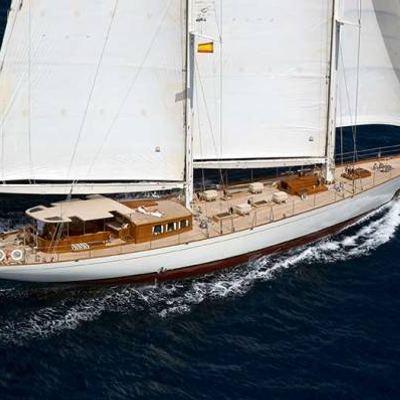 Gweilo Yacht Running Shot