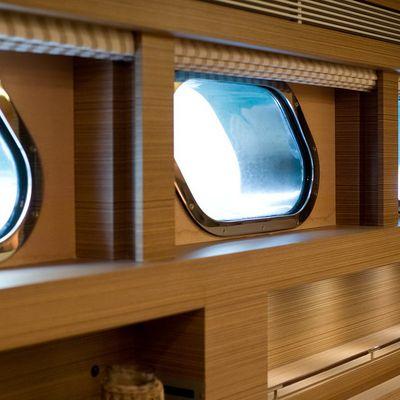 Namaste 8 Yacht Windows