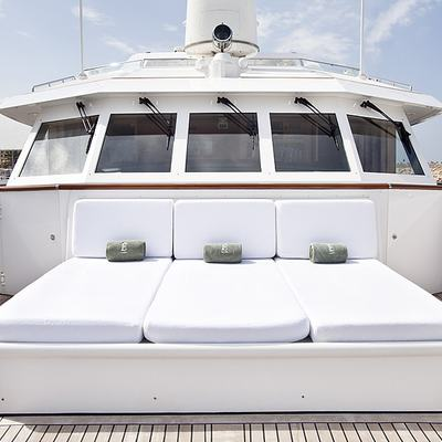 Eclipse Yacht Upper Deck