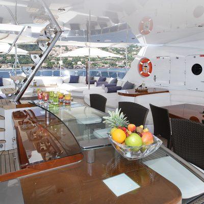 Talisman Maiton Yacht Sundeck Bar