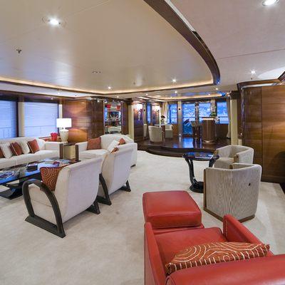 Latitude Yacht Main Salon from Bow