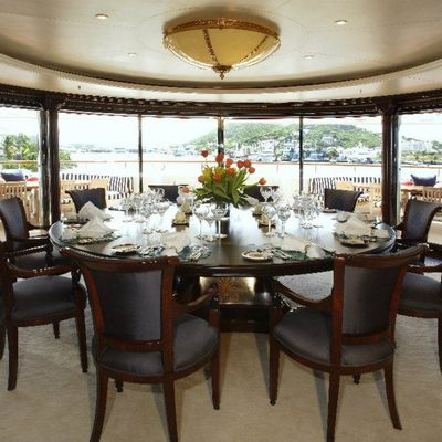 Freedom Yacht Formal Dining