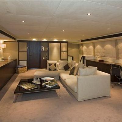 Sensei Yacht Upper Salon
