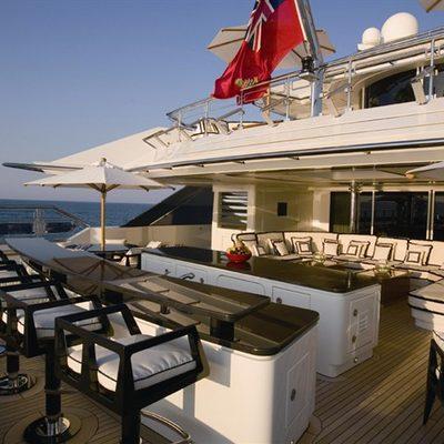 Alfa Nero Yacht Sundeck - Bar