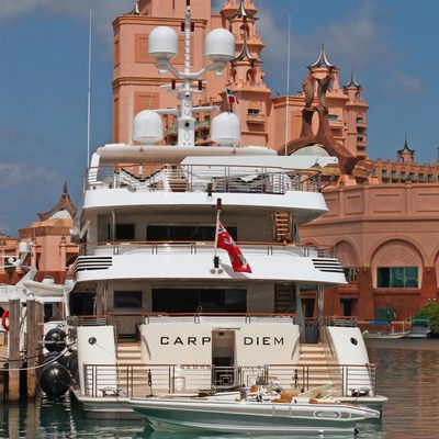Carpe Diem Yacht Stern
