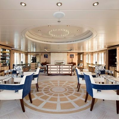 Force Blue Yacht Upper Salon - Overview