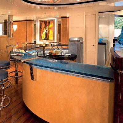 Sycara V Yacht Bar - Side View