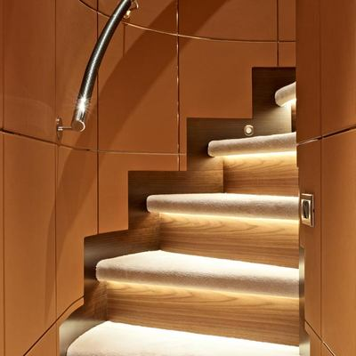 Aurelia Yacht Staircase - Detail