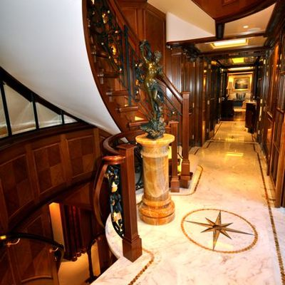 Lady Kathryn V Yacht Foyer