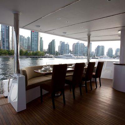 Liquidity Yacht Exterior Dining