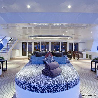 Hemisphere Yacht Aft Seating Area
