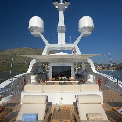 Mimi Yacht Sundeck - Stern