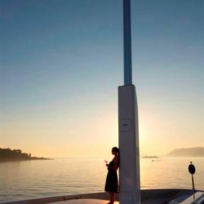 Andreas L Yacht Mast