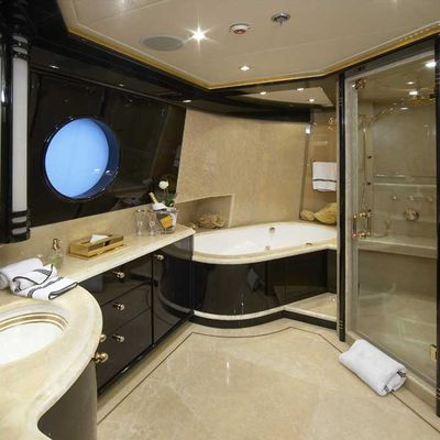 Lady Leila Yacht Upper Deck Master Ensuite