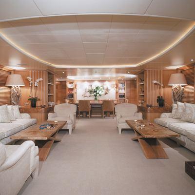 Alexandra Yacht Main Saloon