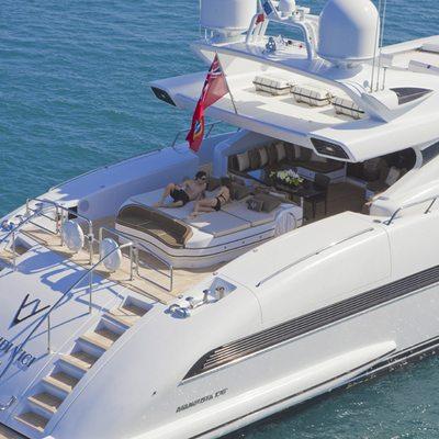 Veni Vidi Vici Yacht Stern