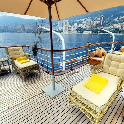 SS Delphine Sun Loungers