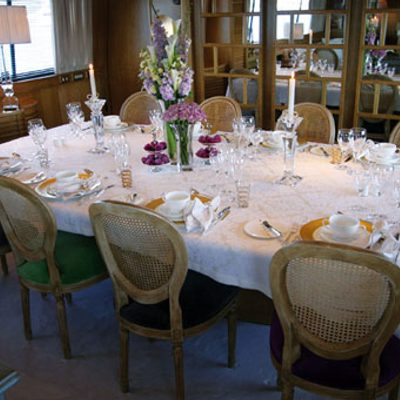 Sea Lady II Yacht Dining Table