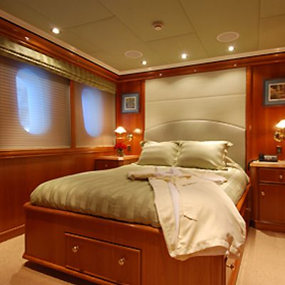 Milk and Honey Yacht Guest Stateroom