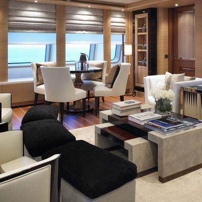 Kathleen Anne Yacht Upper Deck Saloon