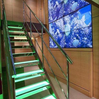 Big Fish Yacht Main Deck Stairs