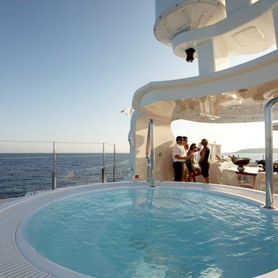 Northlander Yacht Jacuzzi - Close