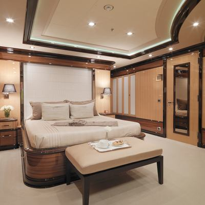 Meamina Yacht Second Guest Stateroom - View