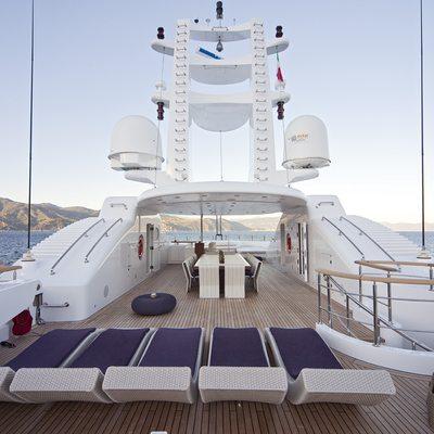 Baraka Yacht Sundeck
