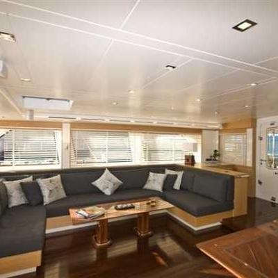 Zelda Yacht Seating Area