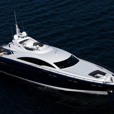 Quantum Yacht Aerial View