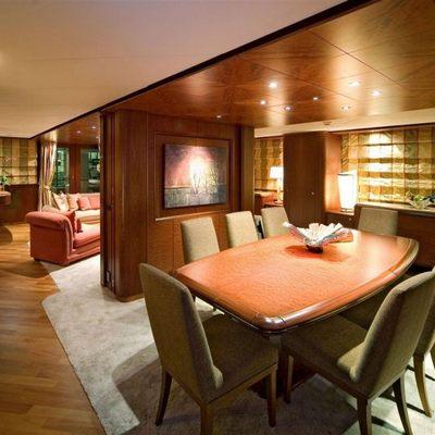 Solaia Yacht Dining Salon