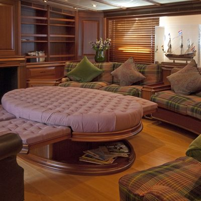 Athos Yacht Main Salon