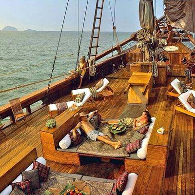 Silolona Yacht Deck Loungers