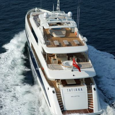 Tatiana I Yacht Running Shot - Rear View
