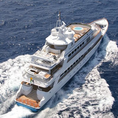Ionian Princess Aerial View - Rear