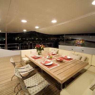 Sensei Yacht Dining