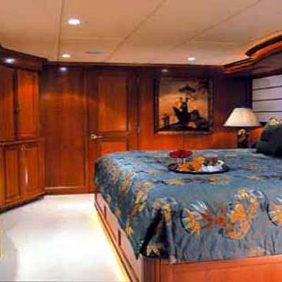 Attitude Yacht Blue Guest Stateroom