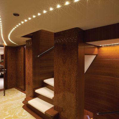 Baron Trenck Yacht Stairway