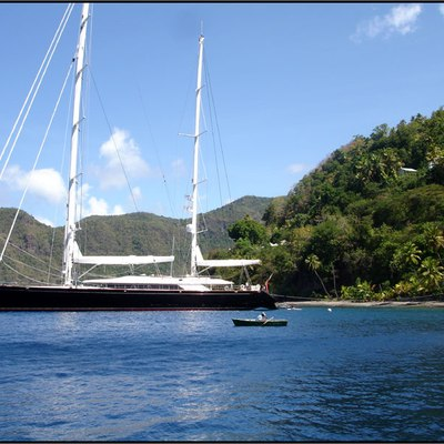 Parsifal III Yacht Profile - Sails Down