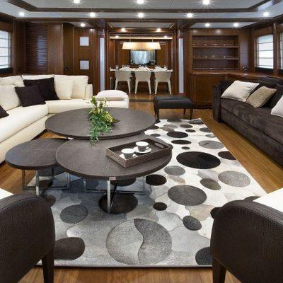 Sima Yacht Main Saloon