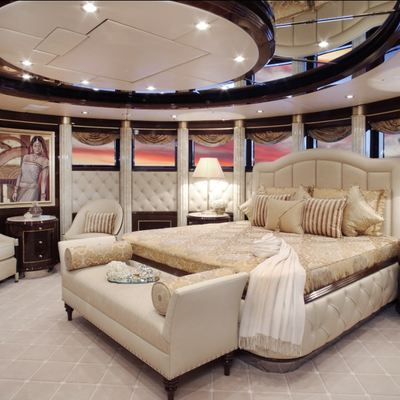 Diamonds Are Forever Yacht Stateroom