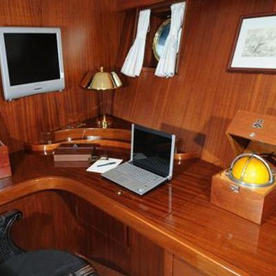 Ofelia Yacht Master Stateroom - Desk