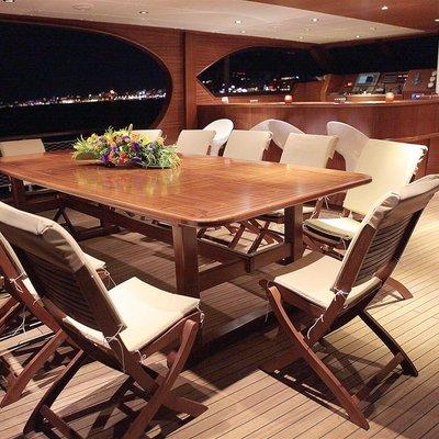 Mezcal 2 Aft Deck Dining