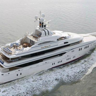 Lady Kathryn V Yacht Running Shot - Profile