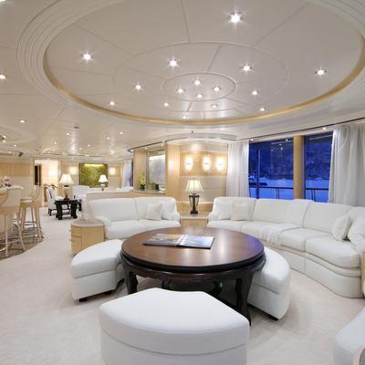 Capri I Yacht White Salon