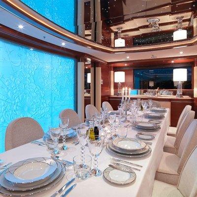 Latitude Yacht Dining Salon - Lights
