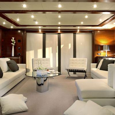 Libertas Yacht Main Salon